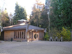 The Woodland Hall, Epping Forest Woodland Burial Park.